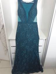 Lindo vestido de festa verde