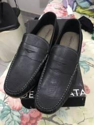 Sapato Democrata Couro
