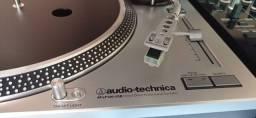 Par toca discos Áudio Téchnica AT LP120