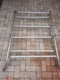 Bagageiro completo (rack+barras) Santana Quantum quadrada