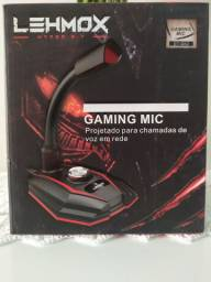 Microfone de mesa Gamer LEHMOX
