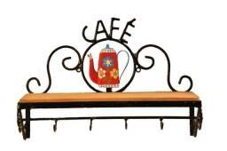 Prateleira Bule Cafe Artesanal Rustica - Envio Imediato