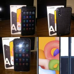 Samsung A01 32GB novo (Ipatinga MG)