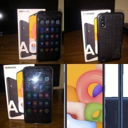 Samsung A01 32GB novo (Ipatinga MG)