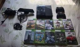 Xbox 360+kinect+2 manetes+10 jogos originais e todos os cabos.