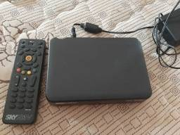 Antena, receptor e controle