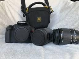 A Rebel T3i é uma câmera EOS da Canon