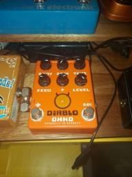Pedal Guitarra Overdrive/distortion Okko Diablo Plus
