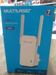 Repetidor Wireless 2 Antenas Multilaser 300mbps Re056