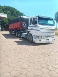 Scania 113 + caçamba basculante