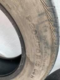 Título do anúncio: Vendo 4 pneus usados (ACEITO PROPOSTAS)
