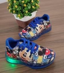 Sapato led sapato mickey masculino 28