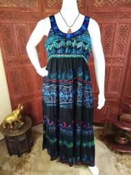 Vestido Moda Indiana Plus /novo