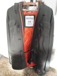 casaco aeropostale verde (com capuz)
