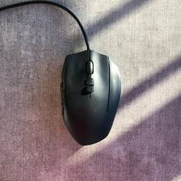 Mouse Gamer Logitech G600 MMO, RGB Lightsync, 20 Botões, 8200 DPI