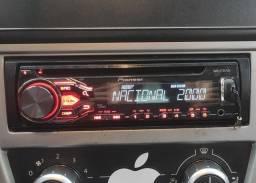 Som automotivo MP3 Pioneer DEH X1850UB com USB