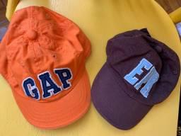 Bonés para bebê marcas Gap e EPK