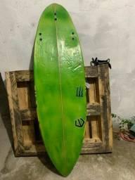 Prancha de surf+jogo de quilha