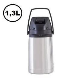 Garrafa Termica 1,3Lt Aço Inox Pressao Bebidas Resistente - maxon -