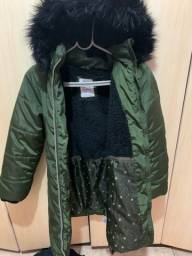 Jaqueta feminina infantil