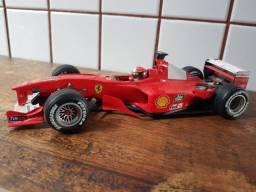 Miniatura Ferrari F1 2000 Schumacher Campeão Hot Wheels 1/18