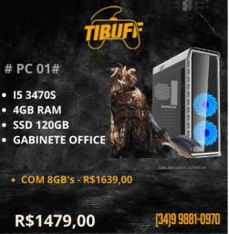 PC Gamer - i5 3470s - 4GB - SSD