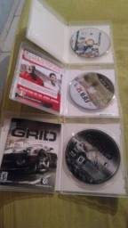 3 jogos originais PS3 por 70 reais