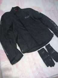 Blusão motociclista texx Ronin impermeável +luva x11