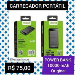 Carregador Portátil 10000 mAh Power BANK