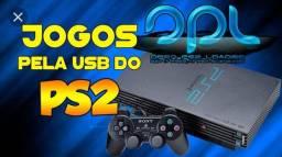 Jogos de Playstation 2 no pendrive original 10 reais cada