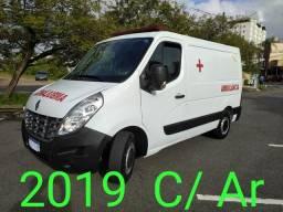 Master Ambulância 2019 Ar frontal e traseiro