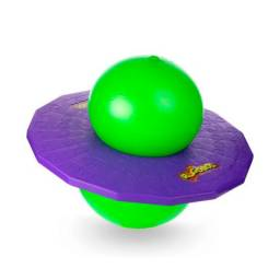 Brinquedo Pogobol Verde/Roxo Estrela Original