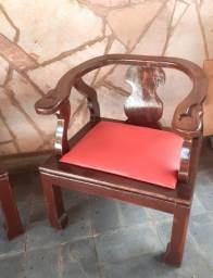 Cadeiras / Namoradeiras em madeira
