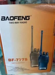 Radio 777s Vhf/uhf 16 Canais Comunicador Profissional