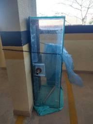 Vidro aquário 260 lts