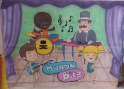 Kit festa infantil Mundo Bita / aceito cartão