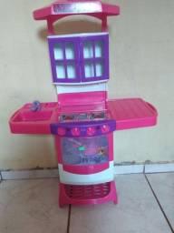Fogão infantil de brinquedo