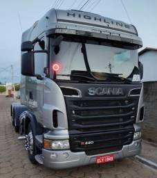 Scania R440 - 6x2 - Higline + carreta LS