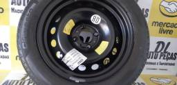 Título do anúncio: Roda Estepe Pirelli Citroen 205 55 aro 16 Semi novo