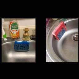 Porta Esponja de cozinha banheiro
