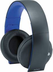 Headset Sony Wireless Stereo Gold - Ps3, Ps4 E Ps Vita