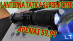 Lanterna Tática Super Poderosa Recarregável (Foco Regulável)