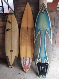 Pranchas de surf, Triquilhas (uma sem), 2 com Deck, ACEITO CARTÃO!