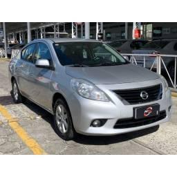 Título do anúncio: Nissan Versa SL 1.6 2013 Completo! Revisado / Garantia / Aceito Trocas!!!