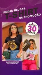 T-shirts femininas da moda