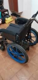 Vendo cadeira de rodas motorizada  usada