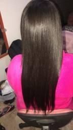 Hidratação de cabelo com selagem sem formol