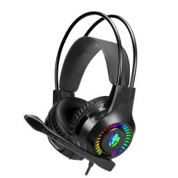 Fone Headset Gamer Evolut Apolo Com led Rgb