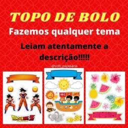 TOPO DE BOLO / DECORAÇÃO DE BOLO