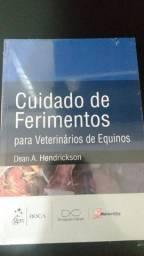 Livro Cuidados de Ferimentos para veterinários de Equinos